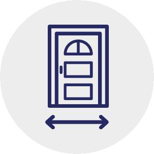 Door widenings
